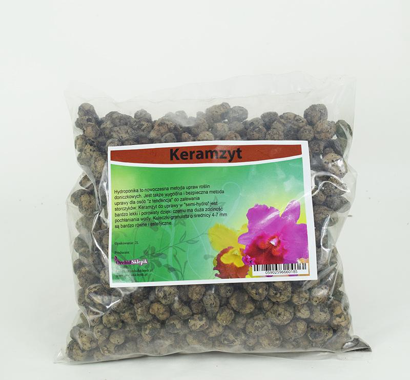 Keramzyt do uprawy hydroponicznej 2l